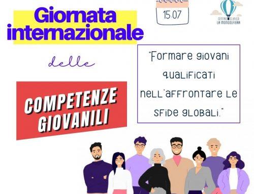 15 Luglio: Giornata Internazionale delle competenze giovanili
